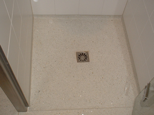 Granieten Vloer Badkamer : Terrazzovloeren monasso